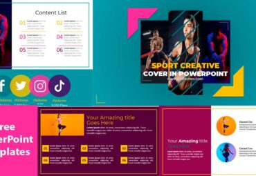 Diapositivas sobre Fitness en Plantillas de PowerPoint