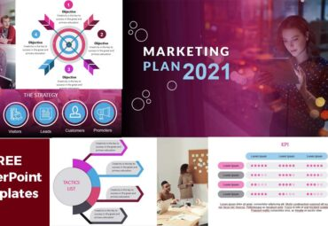 Previsualización de Plantillas de PowerPoint - Plan de Marketing 2021