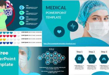 Medicina y formas plantillas de powerpoint