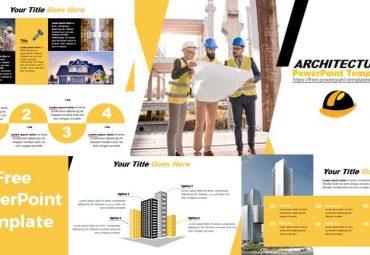 Pantallazos Plantilla de powerpoint gratis arquitectura