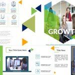 Plantillas de PowerPoint - Crecimiento de Negocios