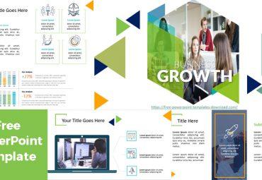 Pantallazos Plantillas de PowerPoint Negocios Growth