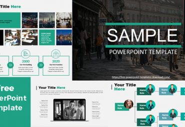 Pantallazos Sample plantilla de powerpoint gratis