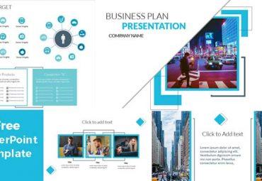 Pantallazos de plantilla de powerpoint gratis ventas y negocios