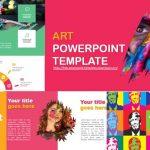 Plantillas de PowerPoint gratis Sobre Arte