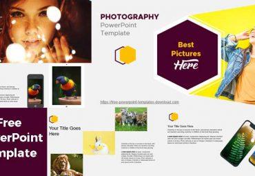 Plantilla de PowerPoint moderna de Fotografia