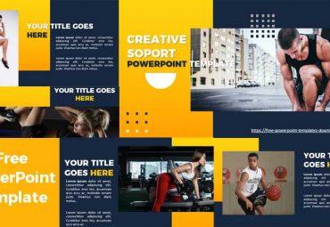 pantallazos Plantilla de PowerPoint originales para deporte
