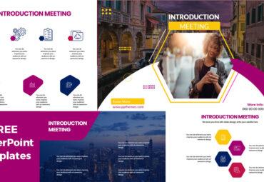 Plantilla de powerpoint para presentacion reunion