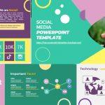 Plantillas de PowerPoint Gratis - Redes sociales
