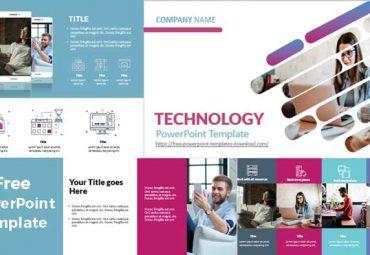 Plantillas de powerpoint teletrabajo y tecnologia
