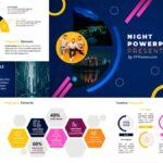 Presentación Noche | Plantillas de PowerPoint