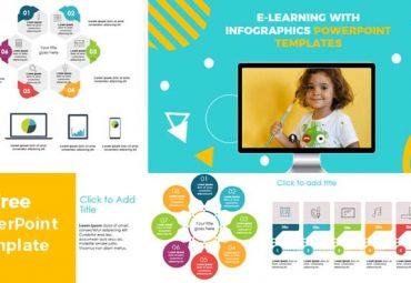 e-learning-con infografias plantillas de powerpoint