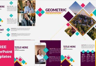 Previsualización de Plantillas de PowerPoint - Geométrica