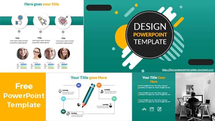 ideas de diseño plantilla de powerpoint gratis