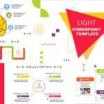 Infografías Light para Plantillas de PowerPoint