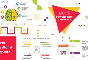light infografias para plantillas de powerpoint