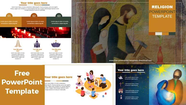 pantallazos plantilla de powerpoint para religión