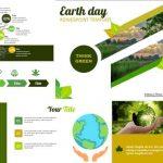 Plantillas de PowerPoint para el día de la tierra