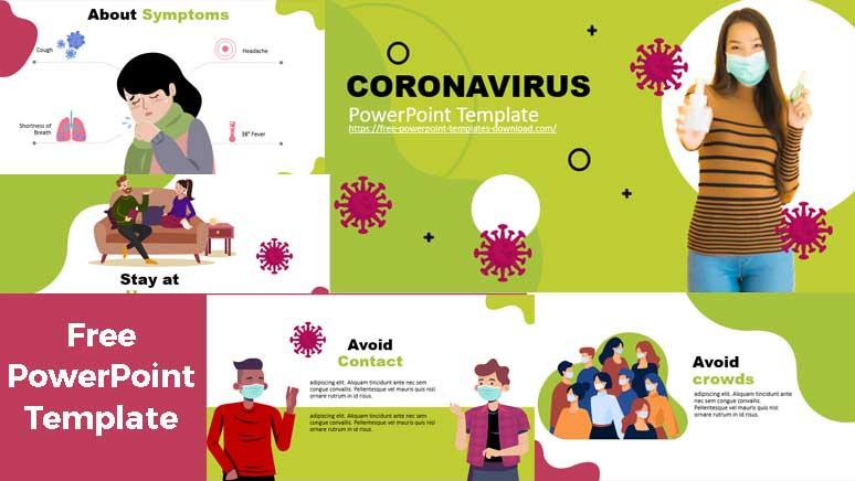 plantilla de powerpoint gratis sobre coronavirus covid 19