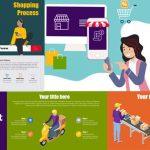 Plantillas de PowerPoint gratis para Comercio electrónico