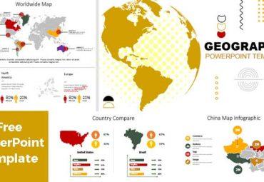 plantillas de powerpoint mapas deograficos