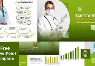 Plantillas de powerpoint verde cuidar tu salud