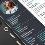 Plantillas modernas de PowerPoint para currículum